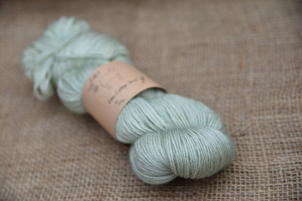 Eden Cottage Yarns BFL Sock Misty Woods