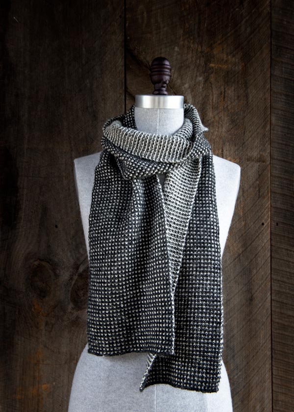 Speckled Scarf Purl Soho | Shortrounds Knitwear