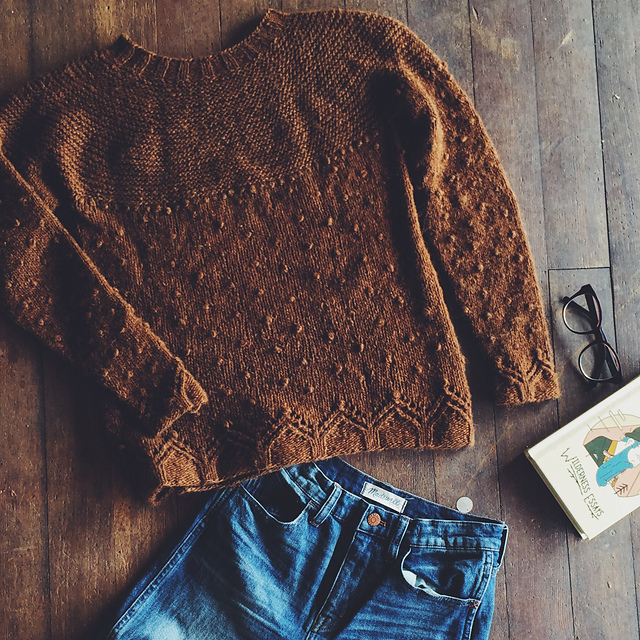 Boylandknitworks Little Cabin pullover | Shortrounds Knitwear