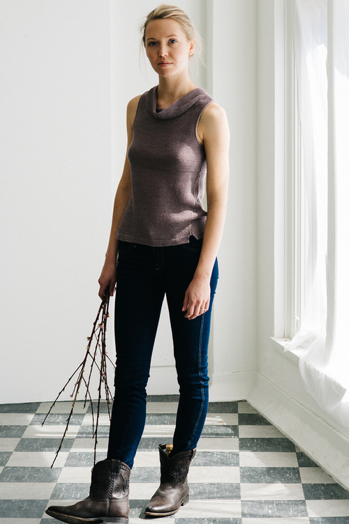 Quince and co Colina vest | Shortrounds Knitwear