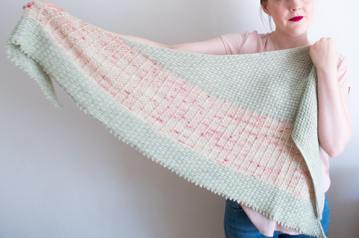 Hessian Shawl Knitting Pattern Shortrounds