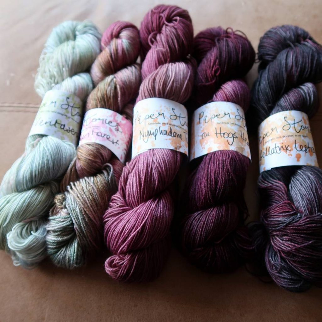 Paper Stories yarn haul | Shortrounds Knitwear