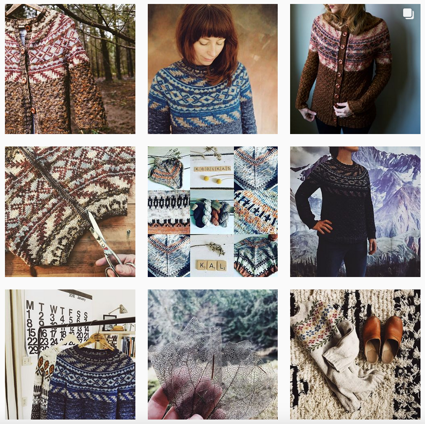 Boylandknitworks Instagram - Shortrounds Knitwear