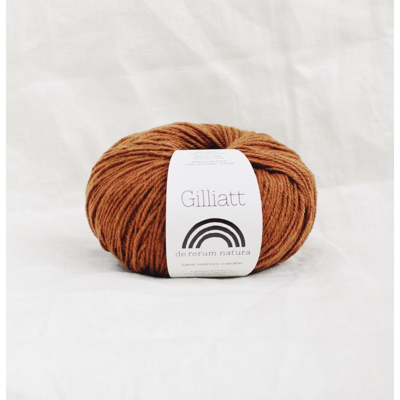 De Rerum Natura Gilliatt Caramel - Shortrounds Knitwear