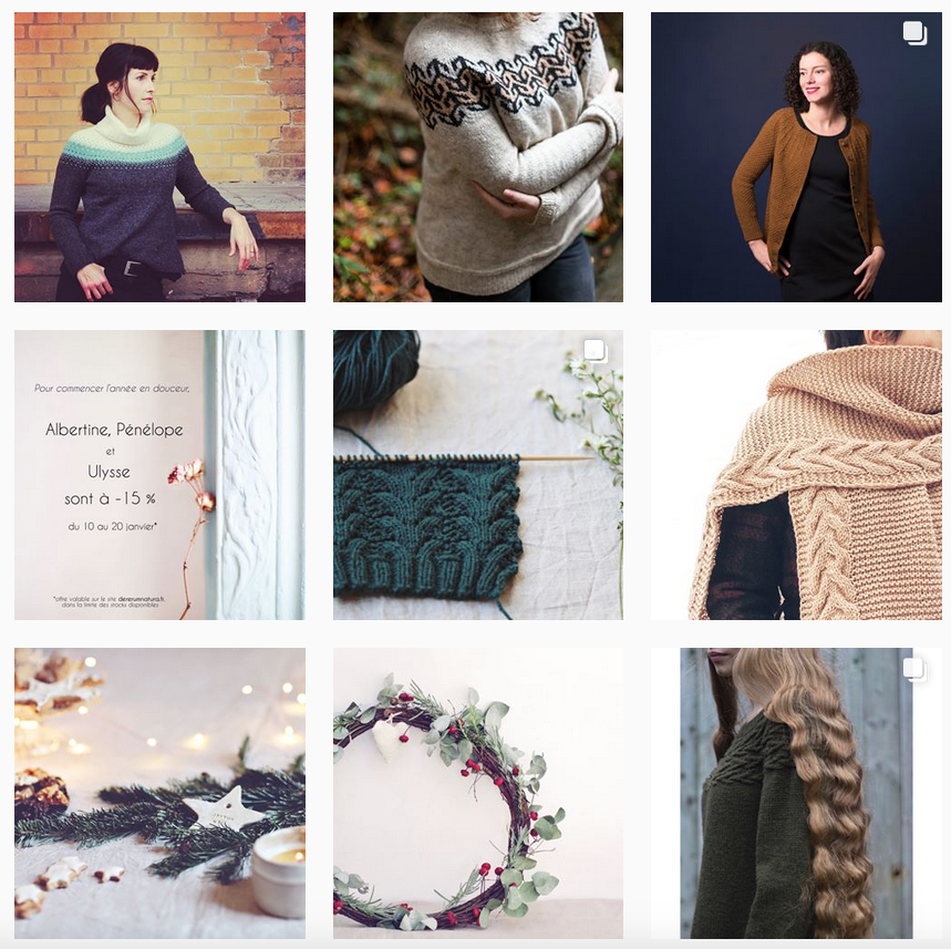 De Rerum Natura Instagram - Shortrounds Knitwear