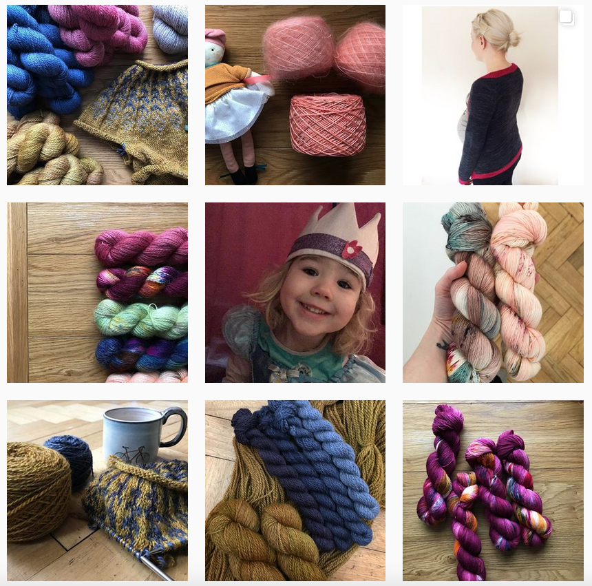 Fine Fish Yarns Instagram - Shortrounds Knitwear