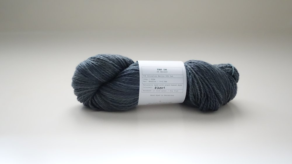 Gregoria Fibers Yak Merino in Ocean - Shortrounds Knitwear