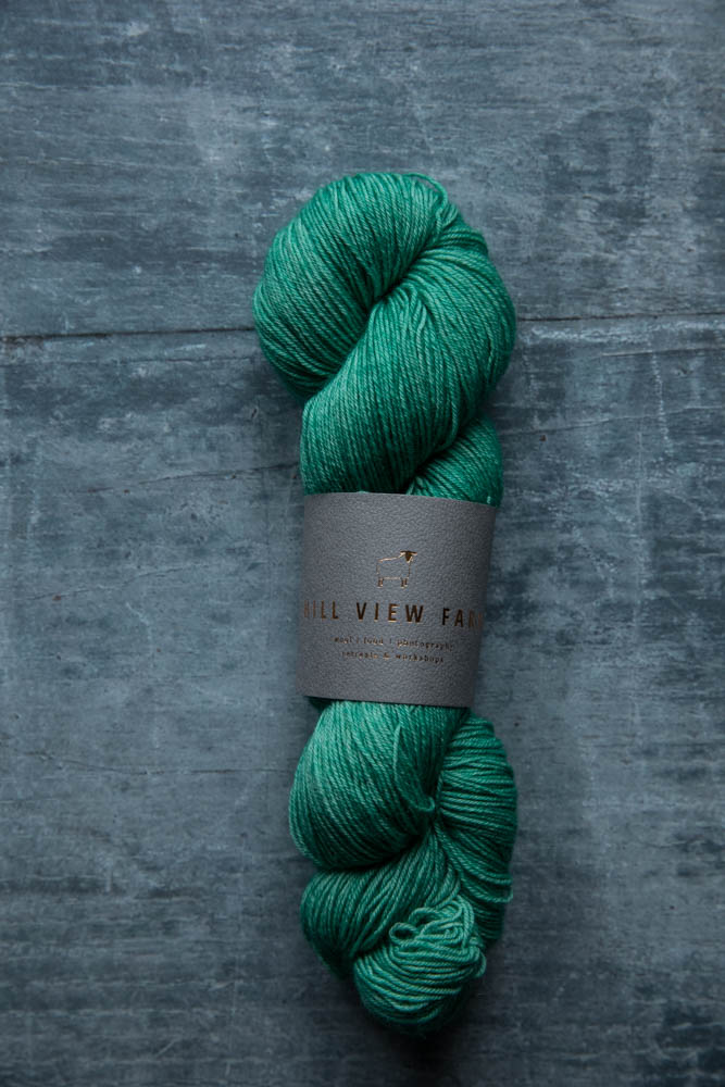 Hill View Farm Dabbler Seafoam - Shortrounds Knitwear