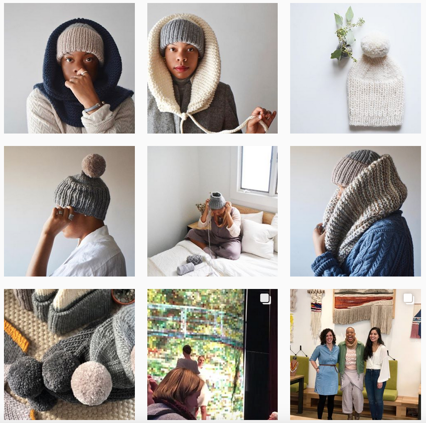 Purlbknit Instagram - Shortrounds Knitwear