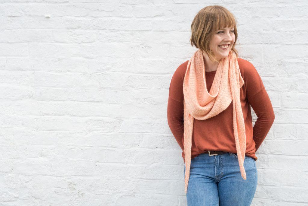 Cirrostratus shawl knitting pattern | Shortrounds Knitwear